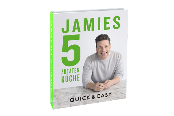 established jamies 5 zutaten k che jamie oliver dorling kindersley. Black Bedroom Furniture Sets. Home Design Ideas