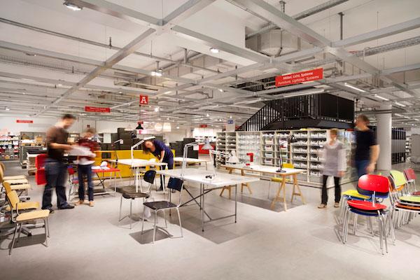 established modulor concept store berlin. Black Bedroom Furniture Sets. Home Design Ideas